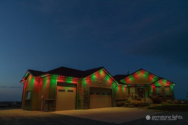 permanent christmas lights in USA and Canada
