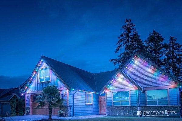 Smart LED Christmas lights
