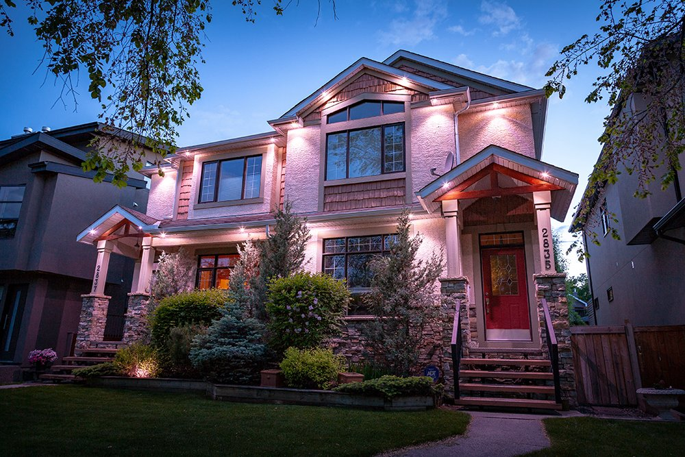 Architectural Outdoor Lighting in Canada and USA